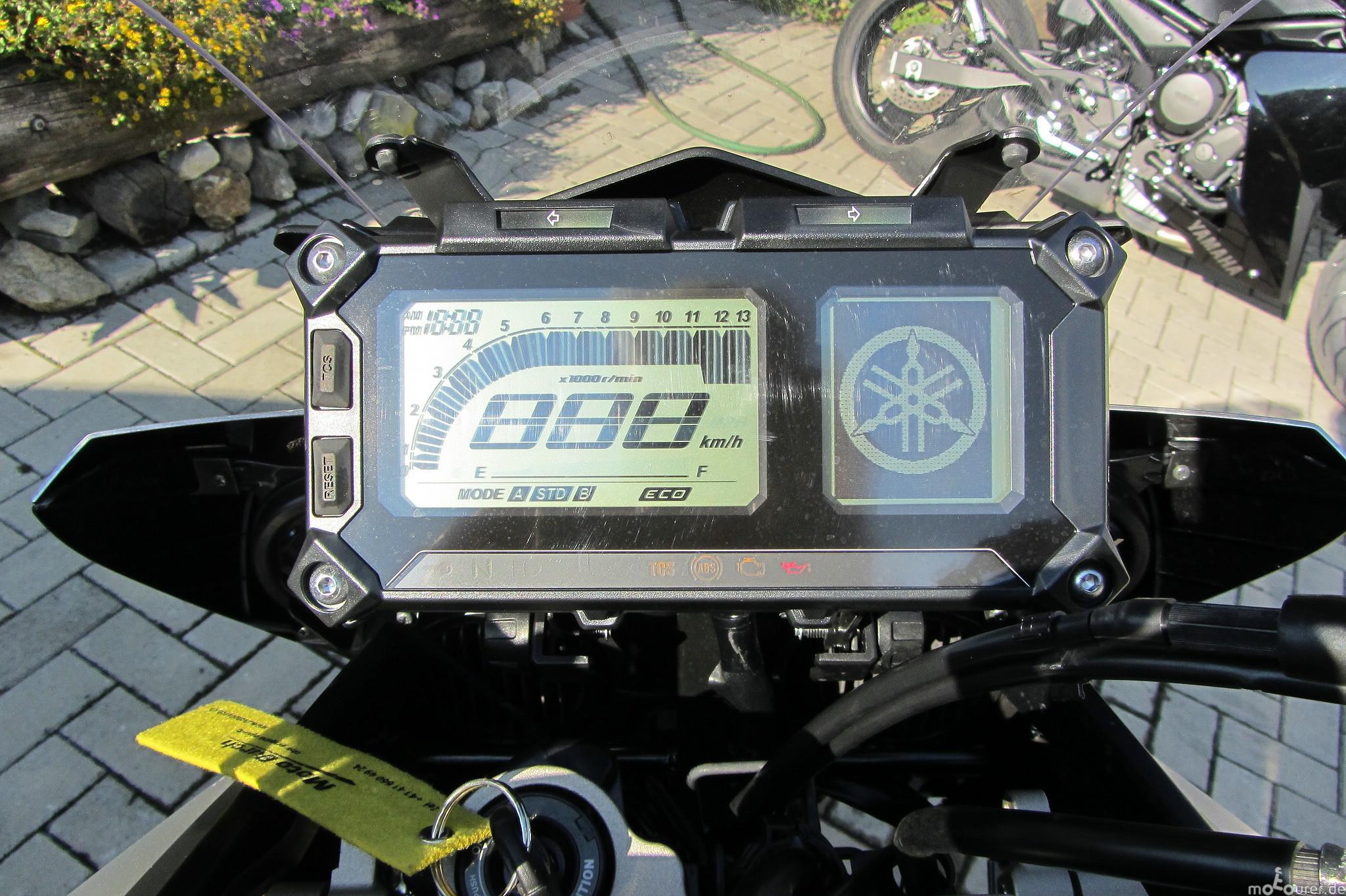 Yamaha MT-09 Tracer Cockpit