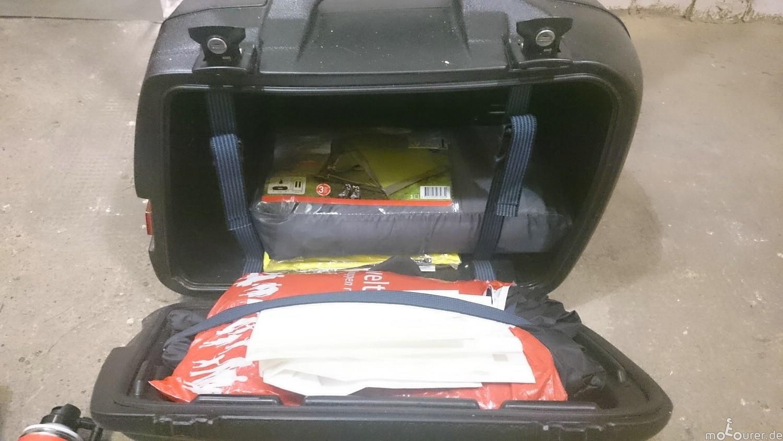 Zelt Im Koffer : Zelt schlafsack isomatte … für den notfall motourer